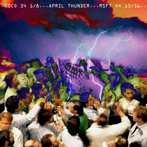 April Thunder 2000 Album Art