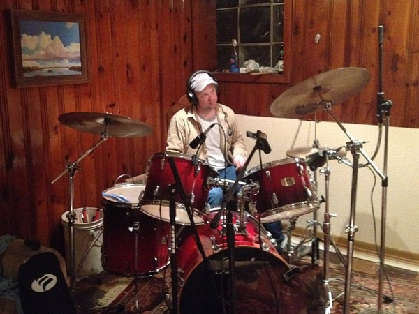 February Open Jam (02/22/2014)<br> Joel on Drums