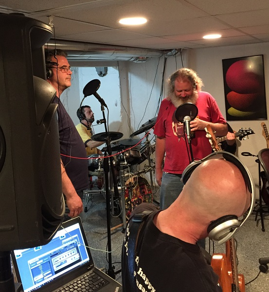 June Open Jam (06/25/2017)<br> McNally, Paul and Aaron