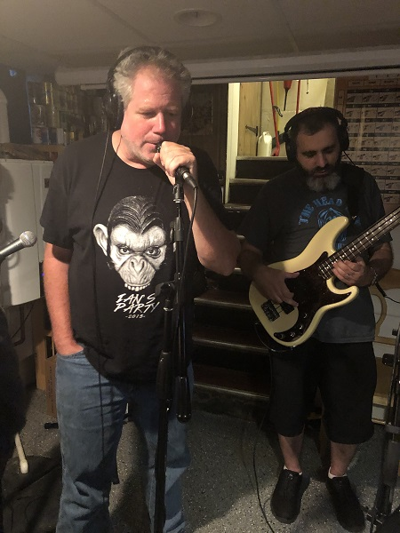 Early August Open Jam (08/04/2019)<br> Paul and Michael