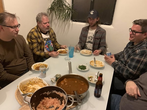 Late December Open Jam (12/29/2019)<br> Ladd, Paul, Geoff and Zack